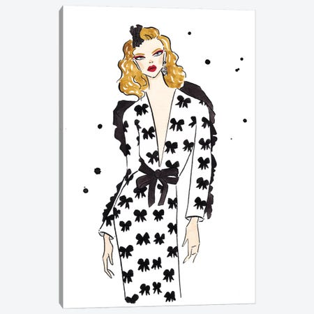 Rodarte Canvas Print #LFJ77} by La femme Jojo Canvas Artwork