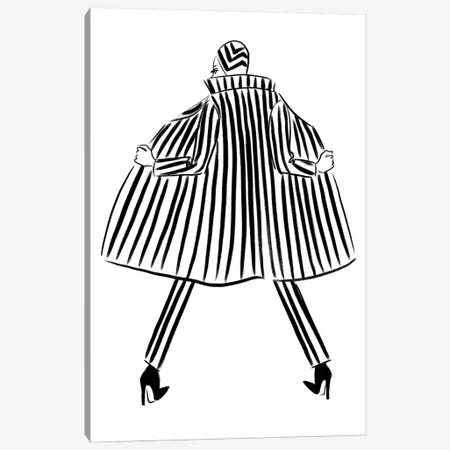 Stripe Femme 3-Piece Canvas #LFJ88} by La femme Jojo Canvas Wall Art