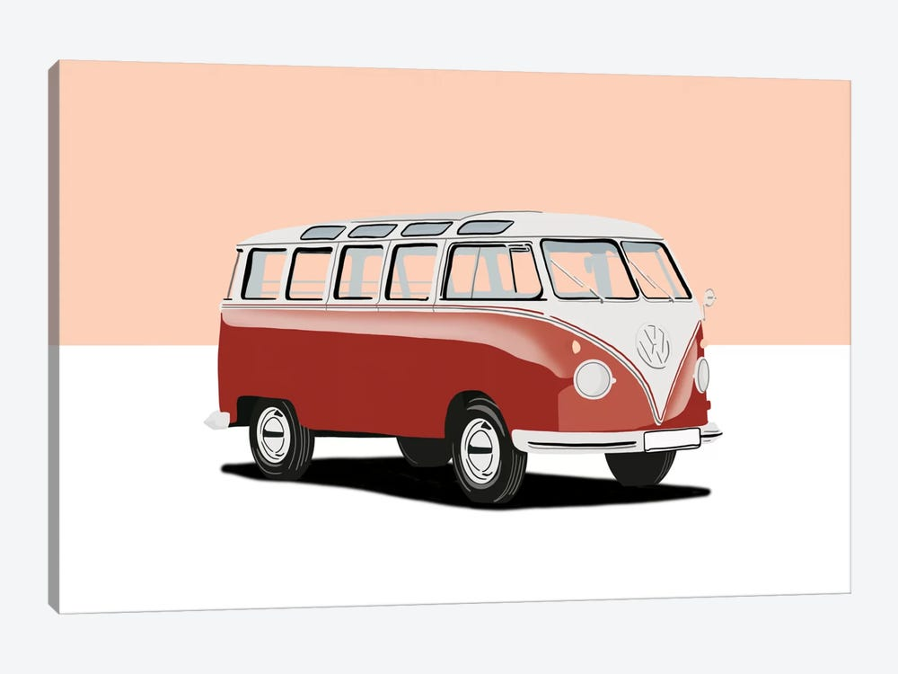 Camping In Style by 5by5collective 1-piece Art Print