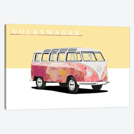 Hippie Party Canvas Print #LFL5} by 5by5collective Canvas Artwork