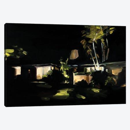 Miami Nocturne Canvas Print #LFN10} by Liz Frankland Art Print