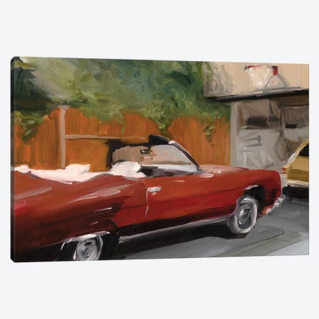 Mike Brady's Car Canvas Print #LFN12} by Liz Frankland Canvas Art Print