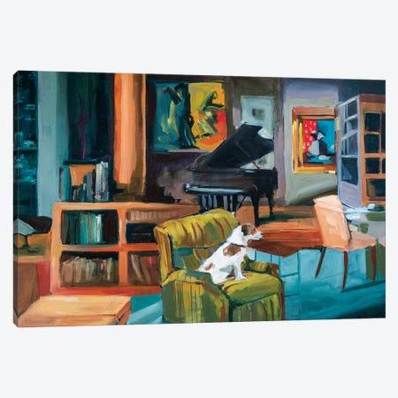 Frasier's Apartment Canvas Print #LFN1} by Liz Frankland Canvas Art Print