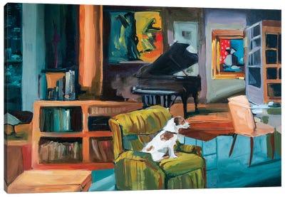 Frasier's Apartment Canvas Art Print