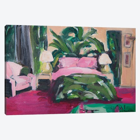 Blanche's Boudoir Canvas Print #LFN6} by Liz Frankland Canvas Art