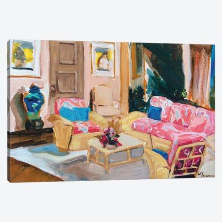 Golden Girls Living Room Canvas Print #LFN7} by Liz Frankland Canvas Artwork