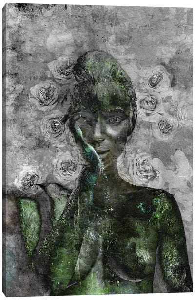 Fleur Canvas Art Print