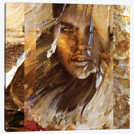 Aureate 3-Piece Canvas #LFR10} by Linnea Frank Canvas Art Print