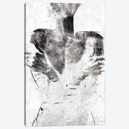 Armored Invert Canvas Print #LFR119} by Linnea Frank Canvas Artwork
