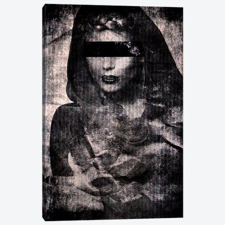 Blindfolded Canvas Print #LFR14} by Linnea Frank Canvas Art