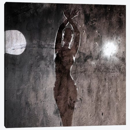 Fullmoon 3-Piece Canvas #LFR32} by Linnea Frank Art Print