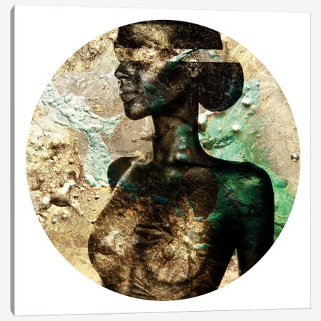 Gemini II Canvas Print #LFR34} by Linnea Frank Canvas Artwork