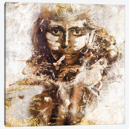Akuni 3-Piece Canvas #LFR3} by Linnea Frank Canvas Artwork
