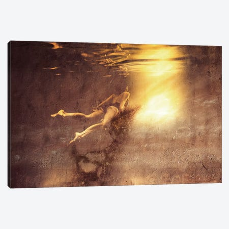 Infinity Canvas Print #LFR41} by Linnea Frank Canvas Art
