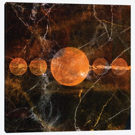 Phase IV Canvas Print #LFR71} by Linnea Frank Art Print