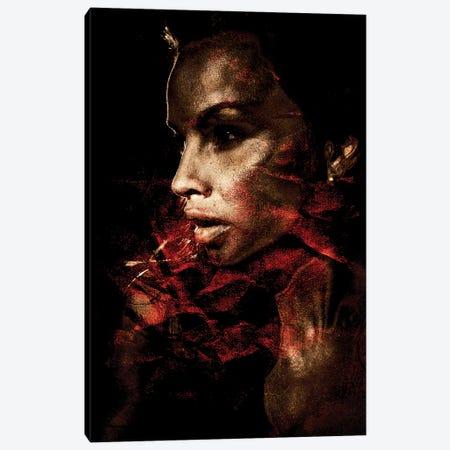 Red Light District Canvas Print #LFR75} by Linnea Frank Canvas Wall Art
