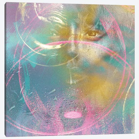 Sarai Canvas Print #LFR80} by Linnea Frank Canvas Artwork