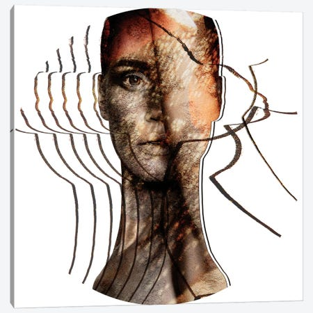 Talia Canvas Print #LFR89} by Linnea Frank Canvas Wall Art