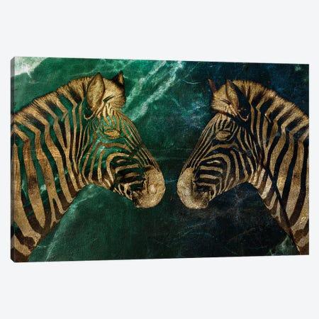 Zebs Canvas Print #LFR99} by Linnea Frank Canvas Print