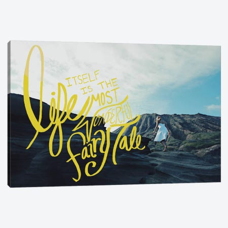 Fairy Tale Canvas Print #LFS10} by Leah Flores Canvas Wall Art