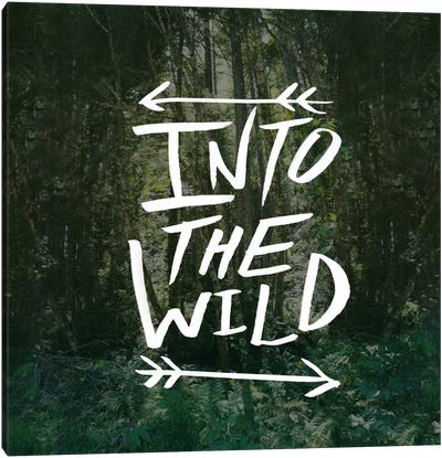 Into the Wild Canvas Art Print
