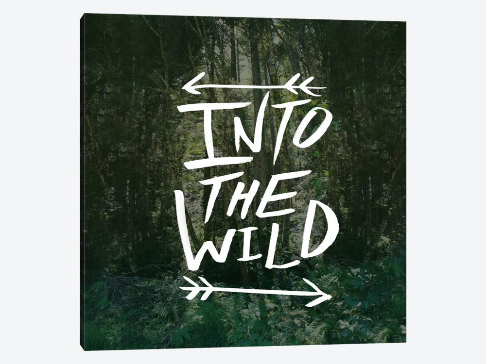 Into the Wild by Leah Flores 1-piece Art Print