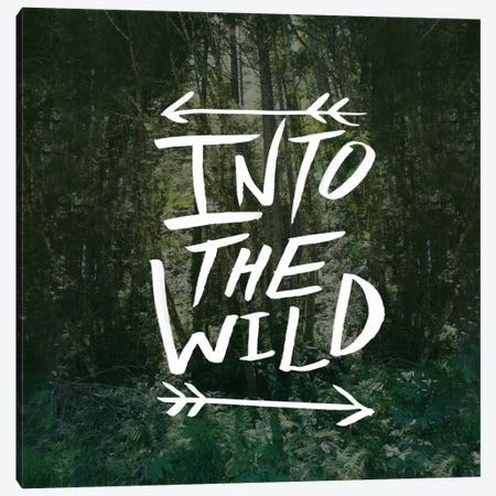 Into the Wild Canvas Print #LFS11} by Leah Flores Canvas Artwork