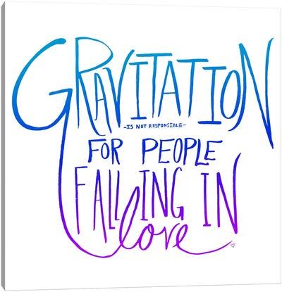 Love & Gravity II Canvas Print #LFS15