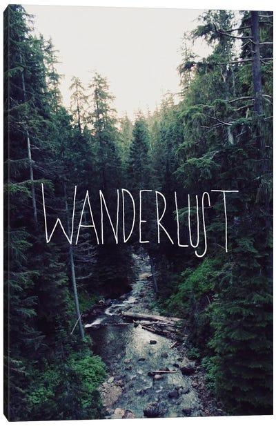 Wanderlust Rainier Creek Canvas Print #LFS19