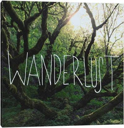 Wanderlust Canvas Art Print