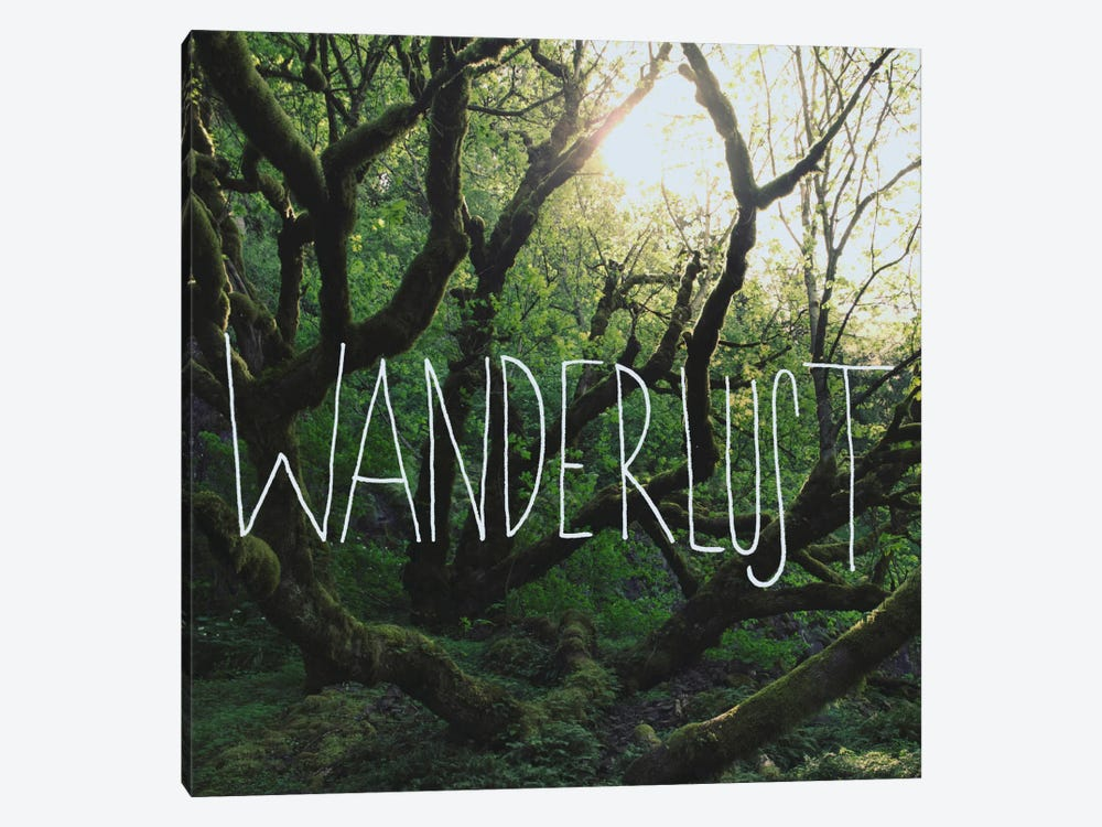 Wanderlust by Leah Flores 1-piece Canvas Art Print