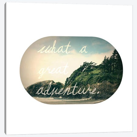 What a Great Adventure Canvas Print #LFS21} by Leah Flores Canvas Print