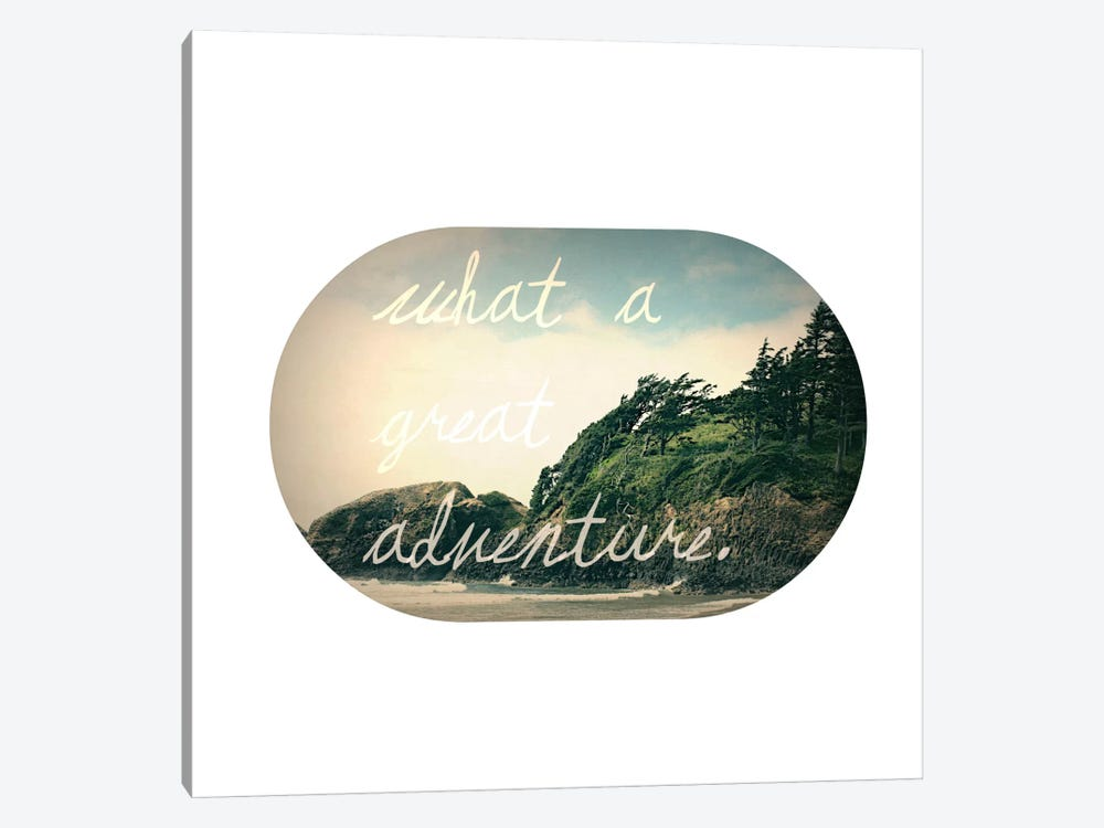 What a Great Adventure by Leah Flores 1-piece Canvas Art