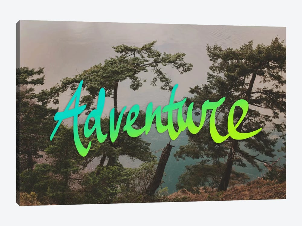 Adventure (Whidbey Island) by Leah Flores 1-piece Canvas Wall Art
