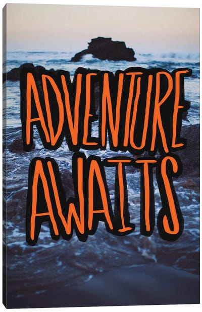Adventure Awaits Canvas Art Print