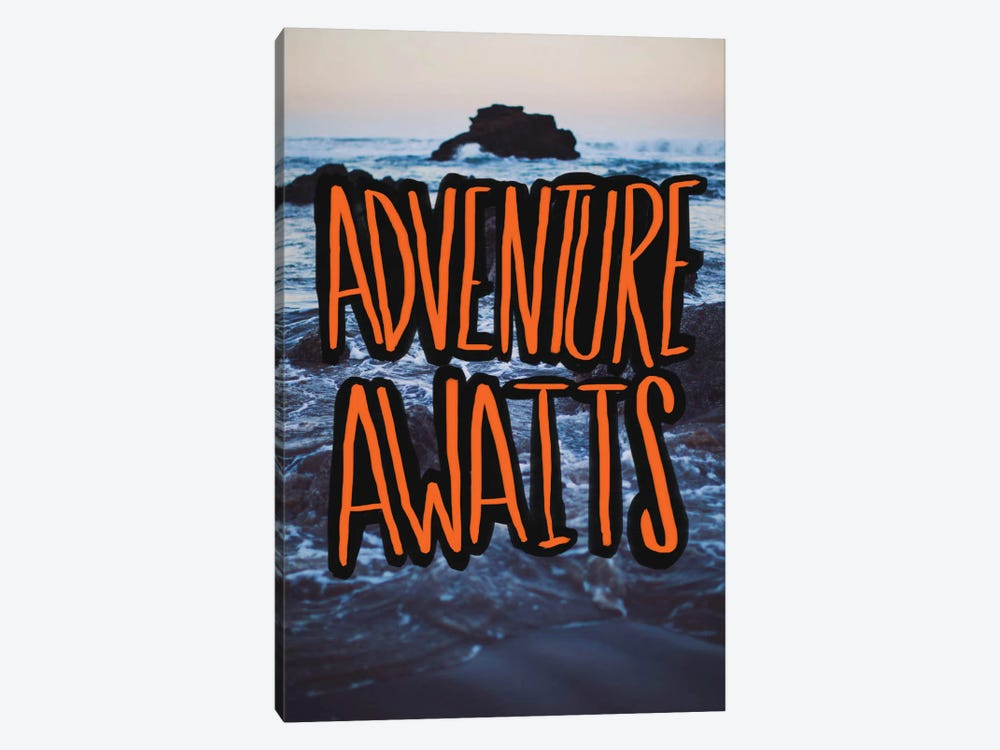 Adventure Awaits by Leah Flores 1-piece Art Print