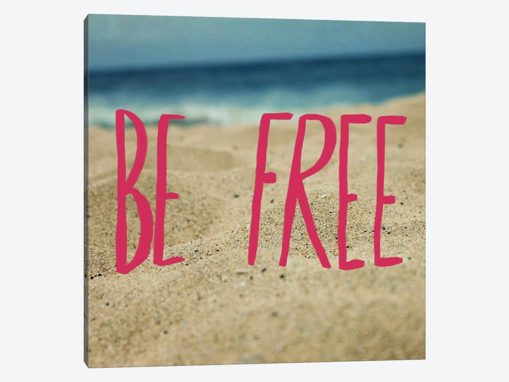 Be Free by Leah Flores 1-piece Canvas Print