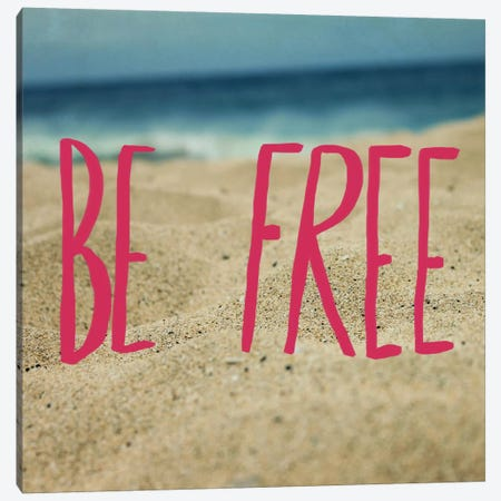 Be Free Canvas Print #LFS26} by Leah Flores Canvas Wall Art