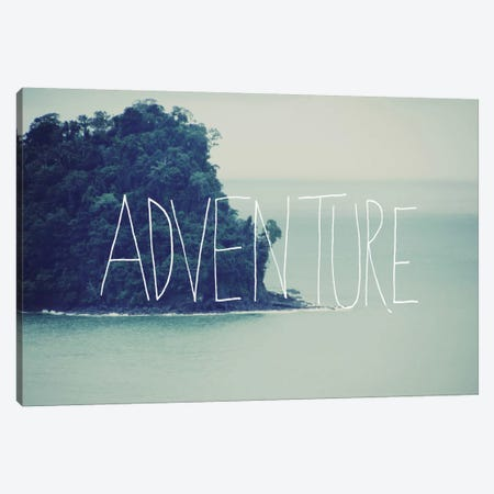 Adventure Island Canvas Print #LFS2} by Leah Flores Canvas Print