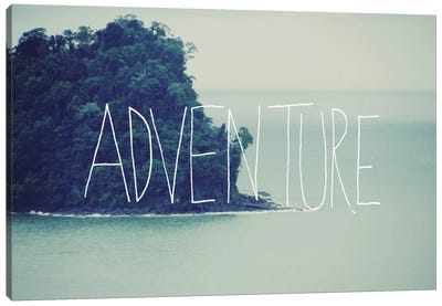 Adventure Island Canvas Print #LFS2
