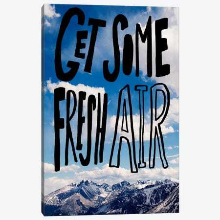 Fresh Air II Canvas Print #LFS30} by Leah Flores Canvas Wall Art