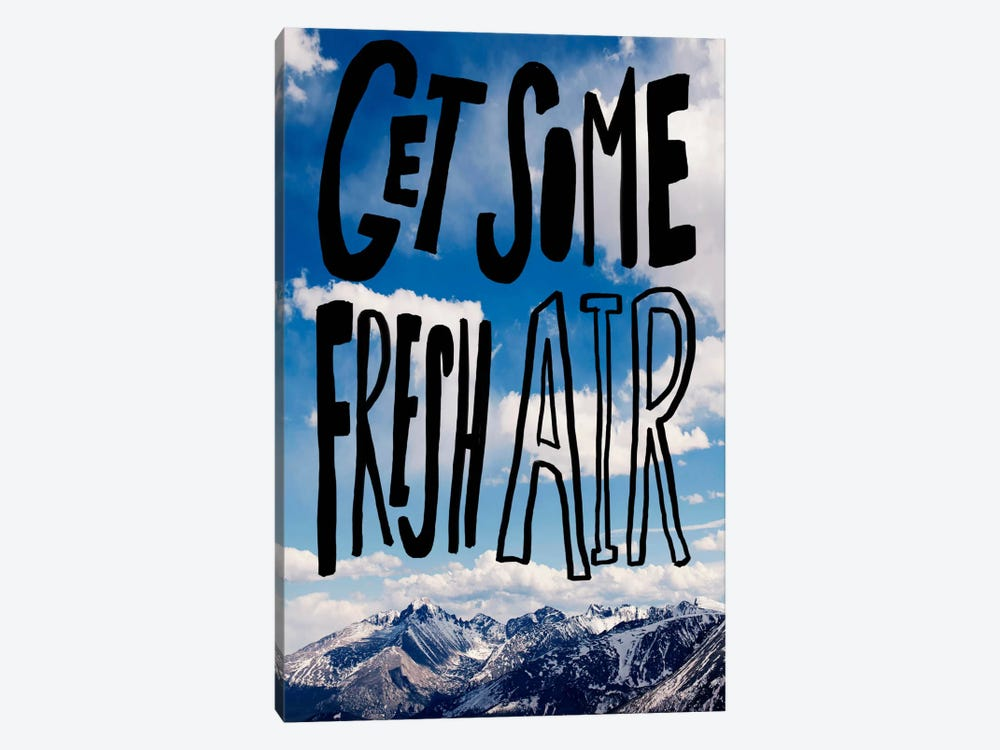 Fresh Air II by Leah Flores 1-piece Canvas Wall Art