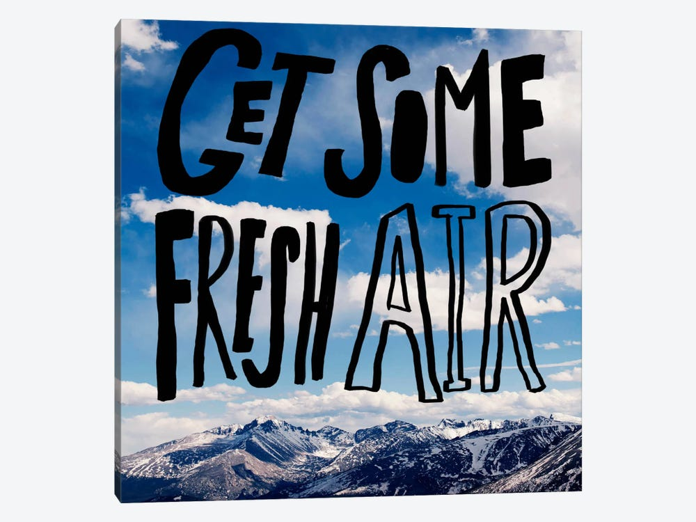 Fresh Air by Leah Flores 1-piece Art Print