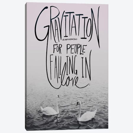 Gravitation II Canvas Print #LFS32} by Leah Flores Canvas Wall Art