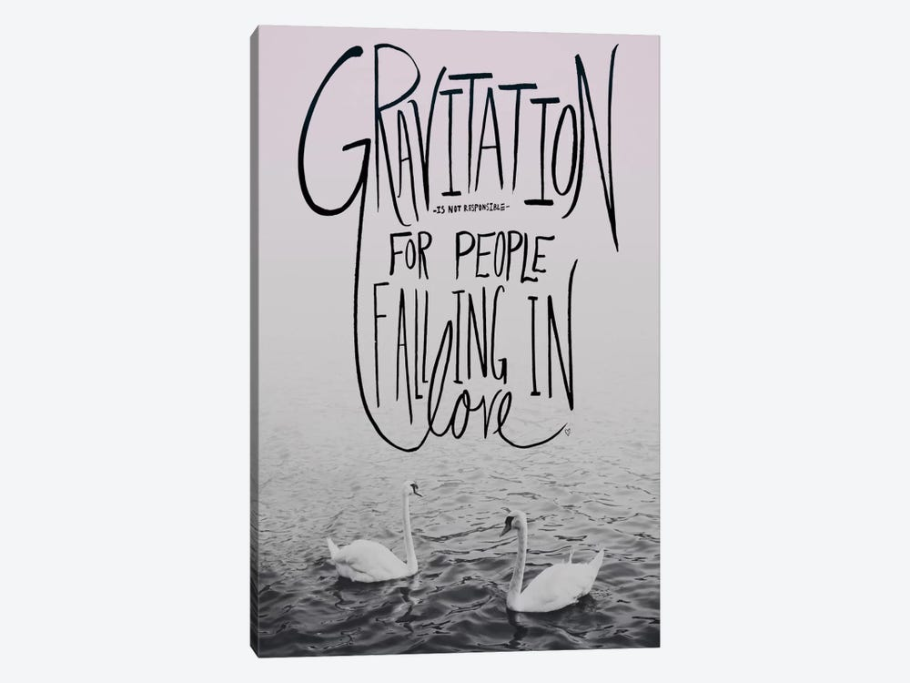 Gravitation II by Leah Flores 1-piece Canvas Artwork