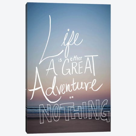 Great Adventure Canvas Print #LFS33} by Leah Flores Canvas Wall Art