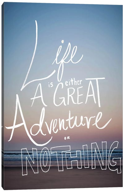 Great Adventure Canvas Art Print