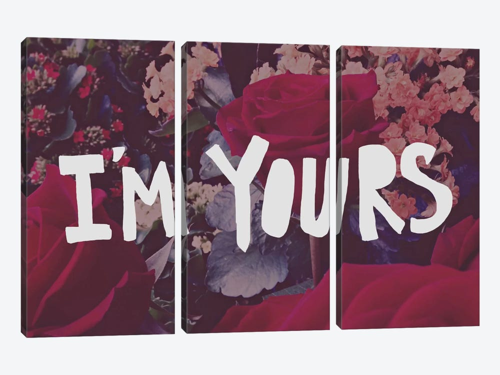 I'm Yours by Leah Flores 3-piece Canvas Art
