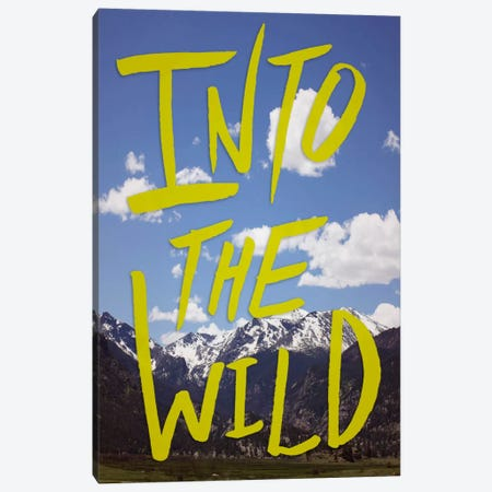 Into the Wild (Colorado) II Canvas Print #LFS35} by Leah Flores Canvas Art Print