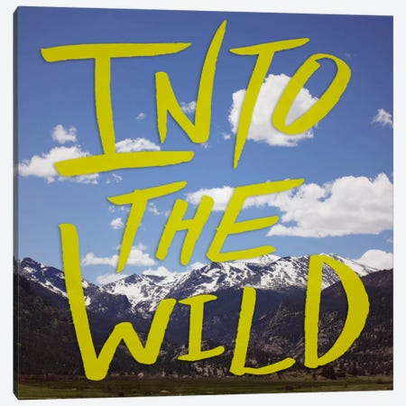 Into the Wild (Colorado) Canvas Print #LFS35a} by Leah Flores Canvas Print